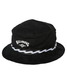 BLACK MENS ACCESSORIES BILLABONG HEADWEAR - 9695355MBLK