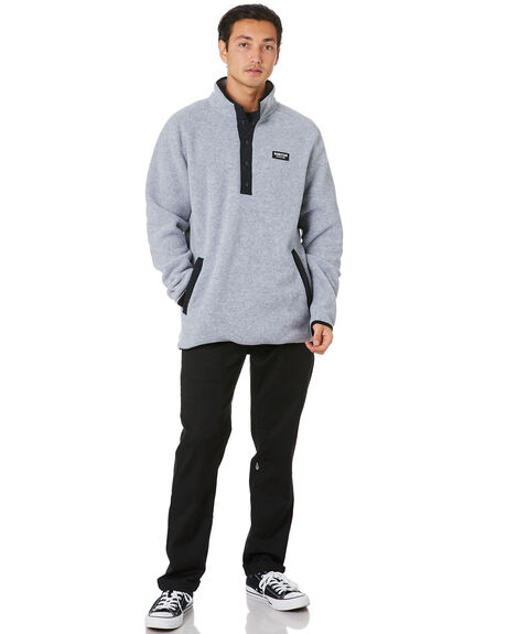 GREY HEATHER MENS CLOTHING BURTON JUMPERS - 17350106020