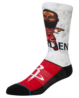 RED MENS CLOTHING STANCE SOCKS + UNDERWEAR - M548A19HARRED