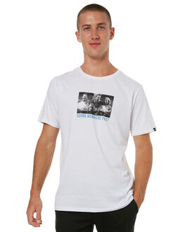 WHITE MENS CLOTHING MAYWOOD TEES - MTE702WHT