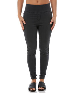 CHARCOAL WOMENS CLOTHING BETTY BASICS JEANS - BB802T18CHAR