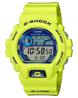 YELLOW MENS ACCESSORIES G SHOCK WATCHES - GLX6900SS-9DYEL