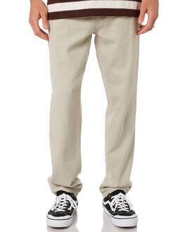 BEIGE FOG MENS CLOTHING RUSTY PANTS - PAM1043BEF