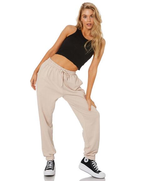 NEUTRAL WOMENS CLOTHING STUSSY PANTS - ST1M0188NTRL