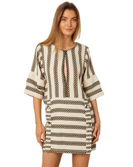 STRIPE WOMENS CLOTHING TIGERLILY DRESSES - T395422STR