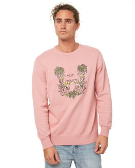 PINK MENS CLOTHING BARNEY COOLS KNITS + CARDIGANS - 415-MC3PNK