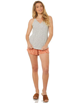 WHITE STRIPE WOMENS CLOTHING O'NEILL SINGLETS - 4720902-WHTS