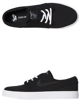 BLACK WHITE MENS FOOTWEAR NIKE SNEAKERS - SS615957-022M