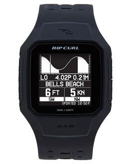 BLACK MENS ACCESSORIES RIP CURL WATCHES - A11440090
