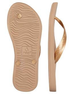 GOLD WOMENS FOOTWEAR REEF THONGS - A3FETGOL