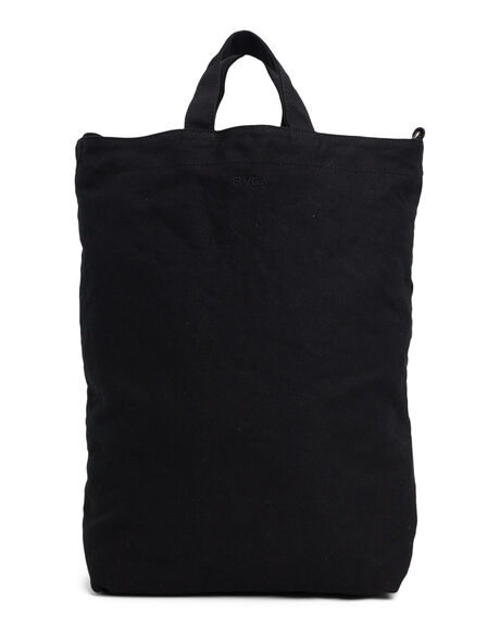 BLACK WOMENS ACCESSORIES RVCA BAGS + BACKPACKS - RV-R417471-BLK