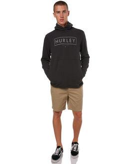 BLACK MENS CLOTHING HURLEY JUMPERS - 895093010