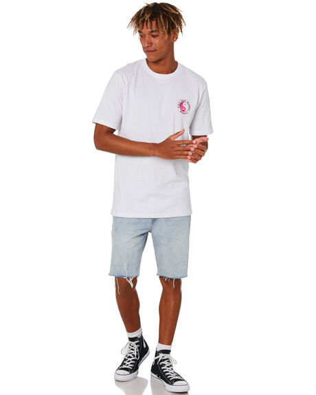 WHITE MENS CLOTHING TOWN AND COUNTRY TEES - TTE816BWHT