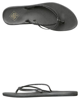 BLACK WOMENS FOOTWEAR FREEWATERS FASHION SANDALS - WO-037BLK