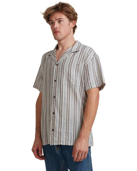 REDWOOD COCONUT MENS CLOTHING QUIKSILVER SHIRTS - EQYWT03960-MNL3