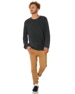 BLACK MENS CLOTHING INSIGHT KNITS + CARDIGANS - 5000001882BLK