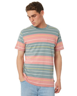 PINE TREE OUTLET MENS RVCA TEES - R181076PINE