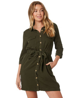 OLIVE OUTLET WOMENS SASS DRESSES - 13742DWSSOLI