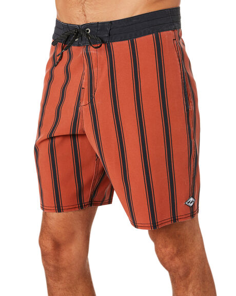 BURNT RED MENS CLOTHING BILLABONG BOARDSHORTS - 9595408BRED