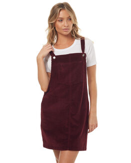 BURGANDY WOMENS CLOTHING ALL ABOUT EVE DRESSES - 6491068BURG