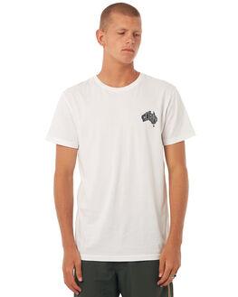 WHITE MENS CLOTHING RHYTHM TEES - DEC17M-SS05WHT