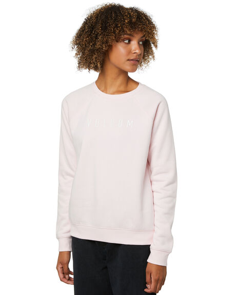 BARLEY PINK WOMENS CLOTHING VOLCOM JUMPERS - B4612075BAP