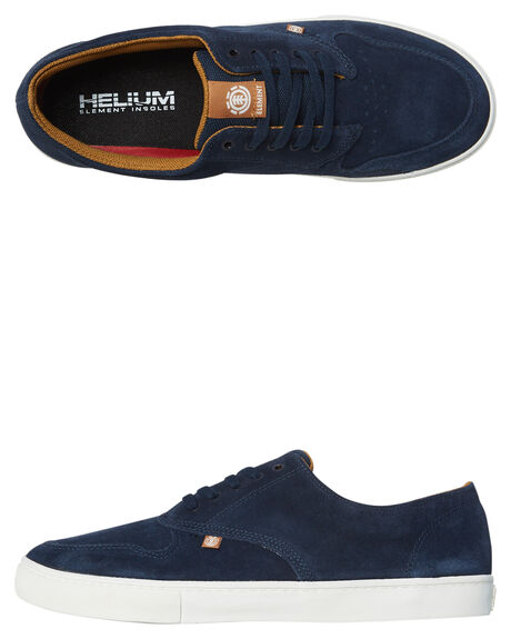 NAVY CURRY MENS FOOTWEAR ELEMENT SNEAKERS - 183902NVY