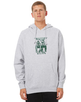 HEATHER GREY MENS CLOTHING PASS PORT JUMPERS - NOWAY_HGRY