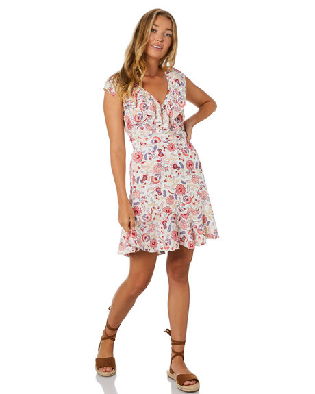 MULTI WOMENS CLOTHING TIGERLILY DRESSES - T305458MLT