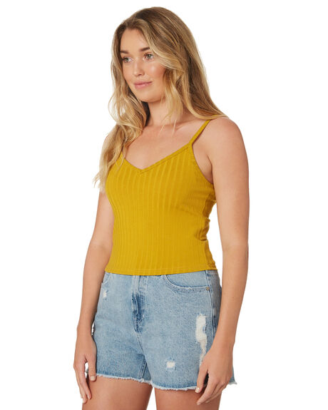 GOLD OUTLET WOMENS ALL ABOUT EVE SINGLETS - 6426018YLW