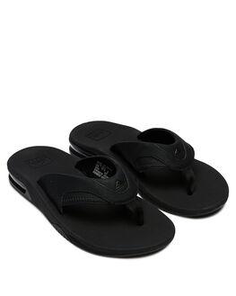 ALL BLACK MENS FOOTWEAR REEF THONGS - 2026ALB