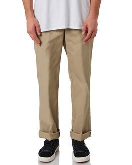 KHAKI MENS CLOTHING DICKIES PANTS - WP873KHK