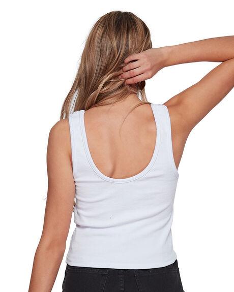 WHITE WOMENS CLOTHING BILLABONG FASHION TOPS - BB-6507133-WHT