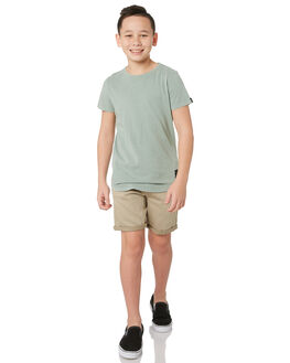 TAN KIDS BOYS ST GOLIATH SHORTS - 2441028TAN