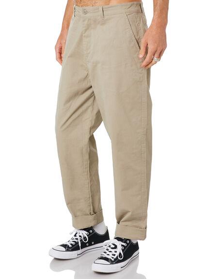 KHAKI MENS CLOTHING DEPACTUS PANTS - D5204191KHAKI