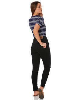 GRAZED BLACK WOMENS CLOTHING LEE JEANS - L656752MC3