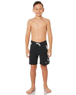 BLACK KIDS BOYS QUIKSILVER BOARDSHORTS - EQBBS03324KVJ6
