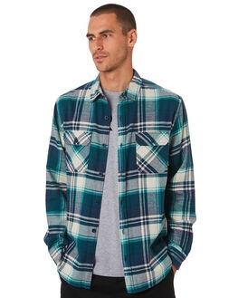 DRESS BLUE MENS CLOTHING BURTON SHIRTS - 14053111401