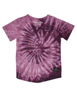 PURPLE DYE KIDS BOYS MUNSTER KIDS TOPS - MK192TE04PRPDY