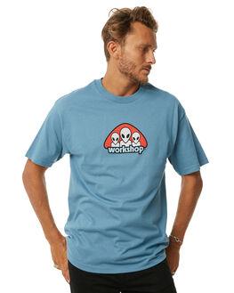 BLUE MENS CLOTHING ALIEN WORKSHOP TEES - TRIADTSLATE