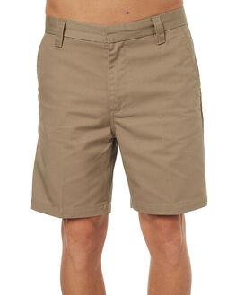 KHAKI MENS CLOTHING GLOBE SHORTS - GB01726001KHA