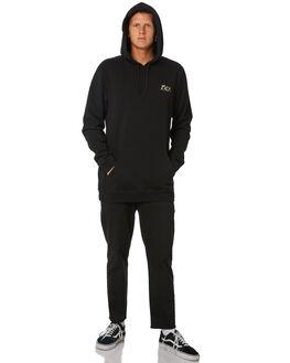 BLACK MENS CLOTHING RVCA JUMPERS - R181155BLK