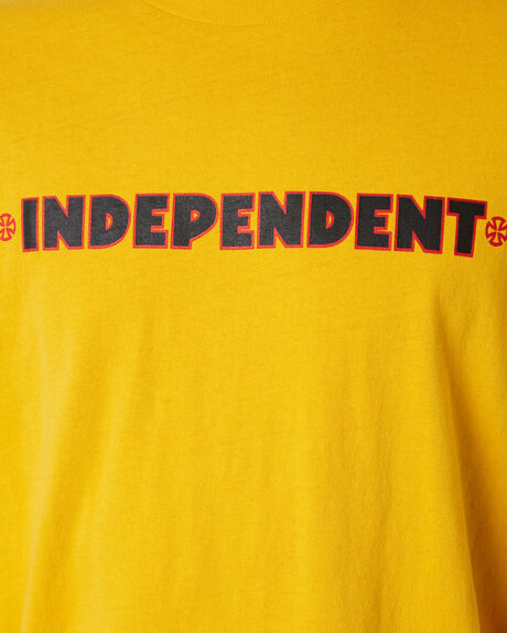CANARY MENS CLOTHING INDEPENDENT TEES - IN-MTD9316CNRY