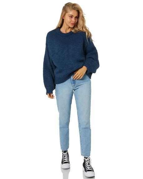 BLUE WOMENS CLOTHING RPM KNITS + CARDIGANS - 21AW15ABLU