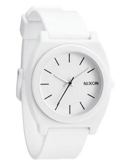 MATTE WHITE KIDS GIRLS NIXON WATCHES - A1191030MWHI