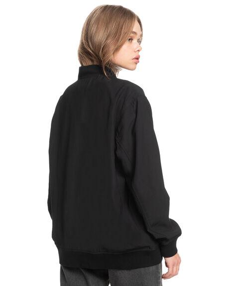 BLACK WOMENS CLOTHING QUIKSILVER JACKETS - EQWJK03023-KVJ0