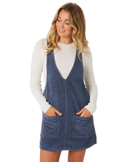 BLUE WOMENS CLOTHING RUSTY PLAYSUITS + OVERALLS - DRL0894PEB