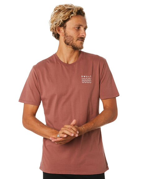 MAHOGONY MENS CLOTHING SWELL TEES - S5193020MAHOG