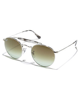 SILVER UNISEX ADULTS RAY-BAN SUNGLASSES - 0RB3747SILV
