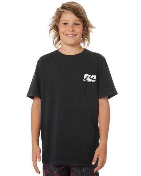 BLACK KIDS BOYS RUSTY TOPS - TTB0595BLK